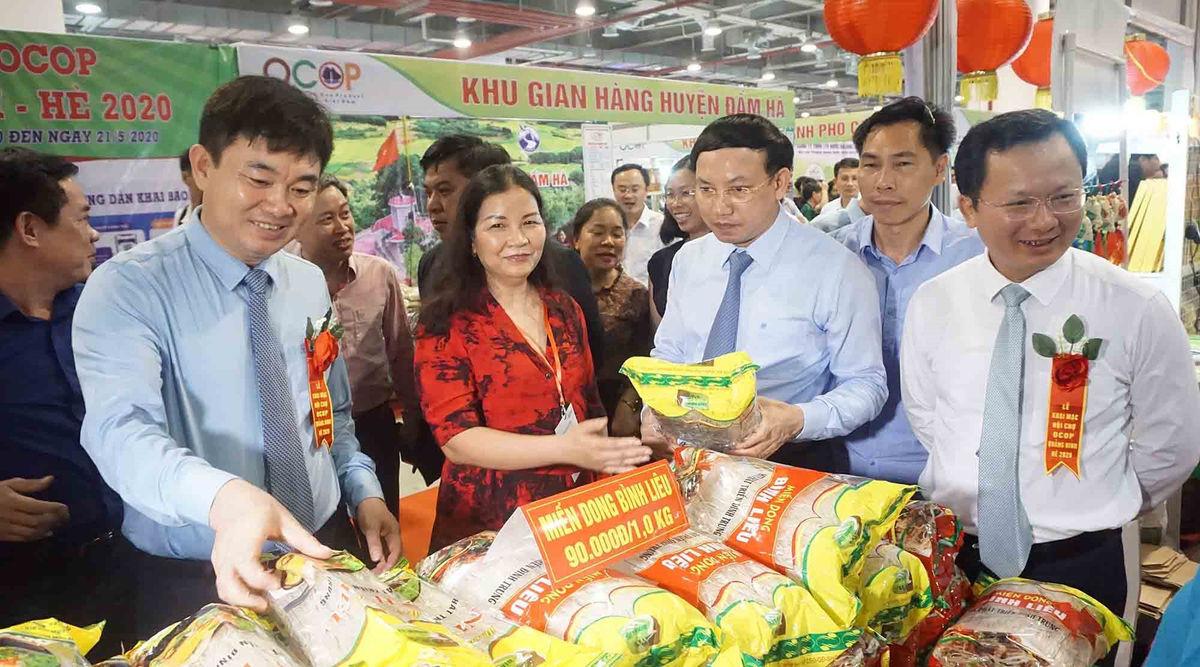 Thông tin Hội chợ OCOP Quảng Ninh Xuân - 2021
