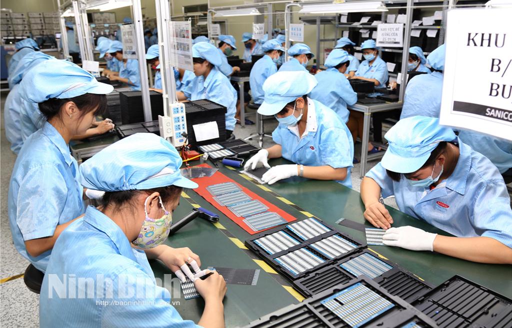 Bước phát triển mới của sản xuất công nghiệp