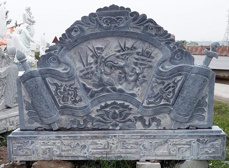 Cuốn thư đá Ninh Vân