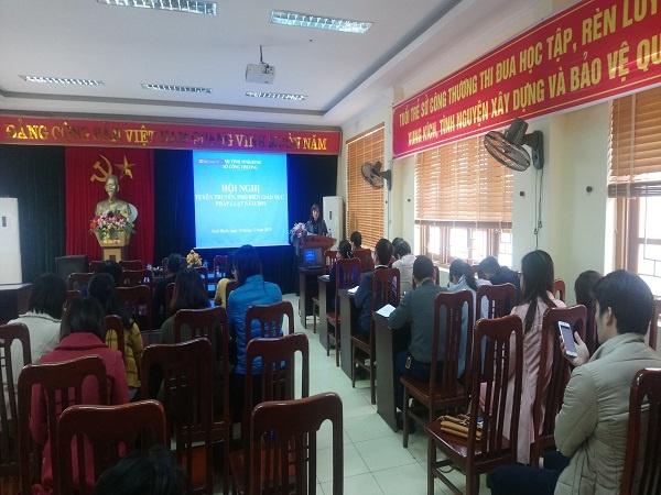 Hội nghị tuyên truyền phổ biến Luật Phòng chống tham nhũng 2018 (25-12-2019)