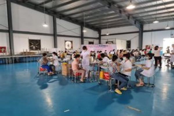 Triển khai chiến dịch tiêm vắc xin phòng Covid-19 cho các lao động trong các cụm công nghiệp trên địa bàn tỉnh Ninh Bình