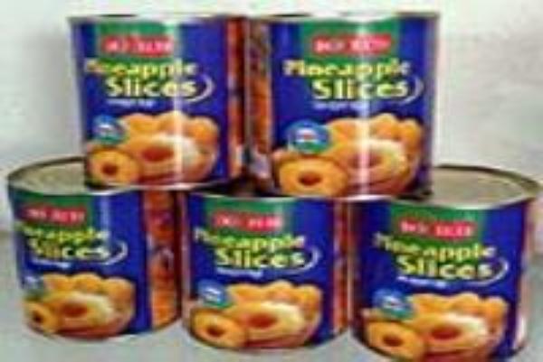 Sản phẩm Quả và hạt đóng hộp và sản phẩm Nước quả cô đặc của Công ty CP thực phẩm xuất khẩu Đồng Giao