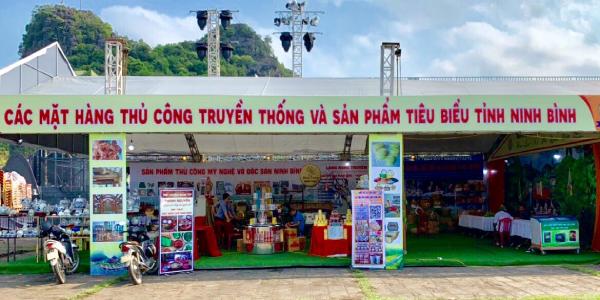 Sở Công thương Ninh Bình tham gia gian hàng tại Lễ hội Hoa Lư năm 2021